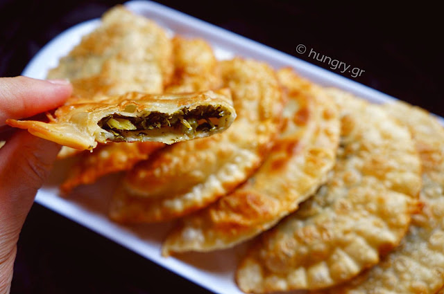Mixed Greens Pies-Hortopites