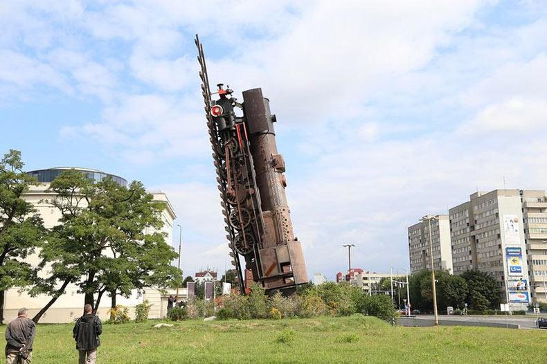 El Tren hacia el Cielo de Polonia