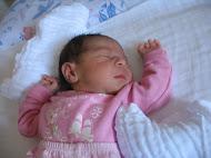 Nasceu Olívia, dia 06/11/2010