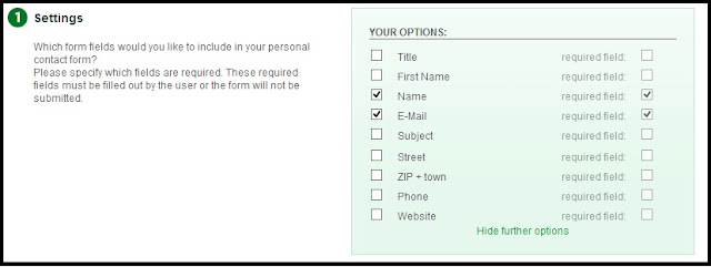 Cara Membuat Kolom / Form Contact Me Pada Blog
