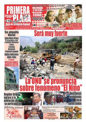 NUESTRA CARÁTULA DE HOY