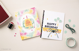 stampin up uk confetti embossing folder