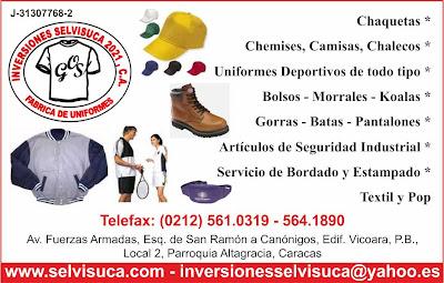 INVERSIONES SELVISUCA 2021, C.A. en Paginas Amarillas tu guia Comercial