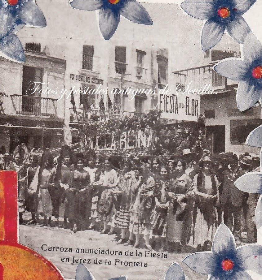 Fotos y postales antiguas de sevilla fotos antiguas de for Muebles en jerez dela frontera cadiz