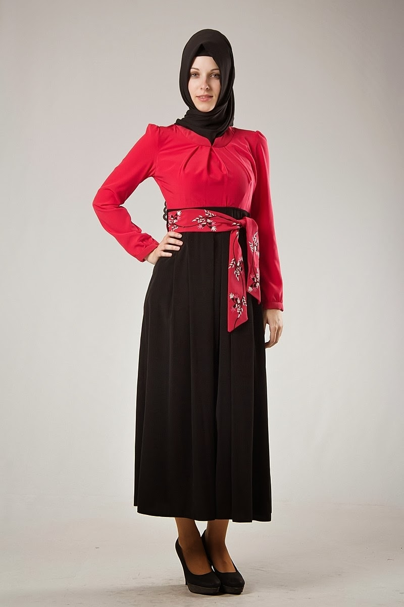 Robe Hijab Turque Pour L 39 Hiver 2014 Hijab Chic Turque Style And Fashion
