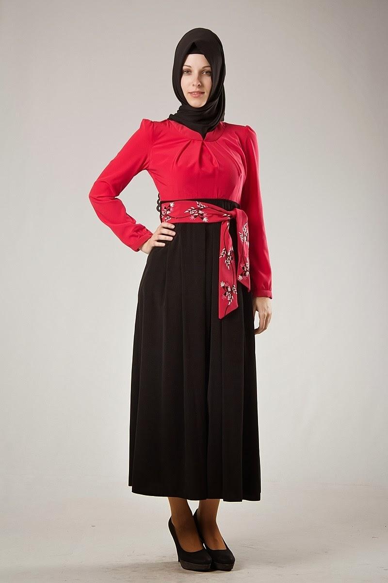 Hijab chic - Robe noire - Kayra 2014