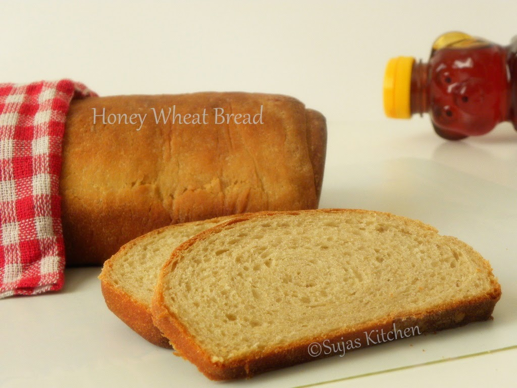 Homemade Honey Wheat Bread
