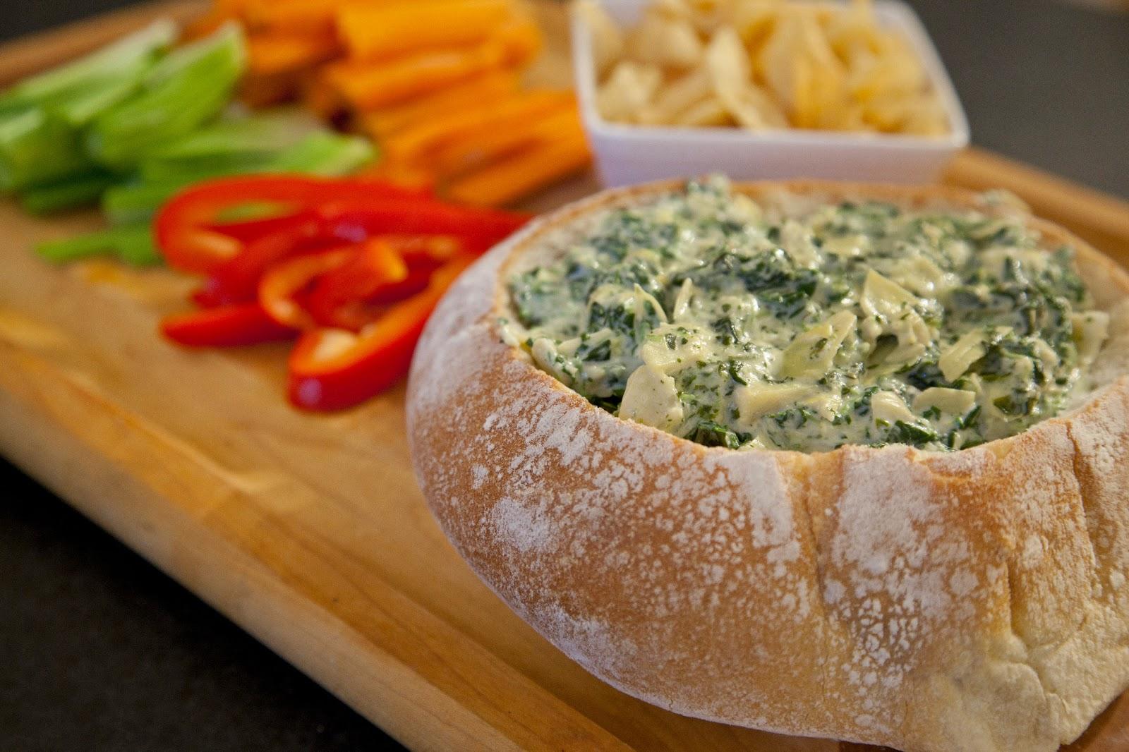 Spinach Artichoke Dip | FoodSAZm