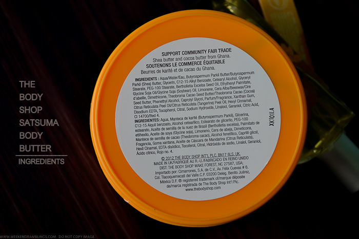 TBS Satsuma Body Moisturizer Shea Butter Ingredients Dry Skincare Indian Beauty Makeup Blog