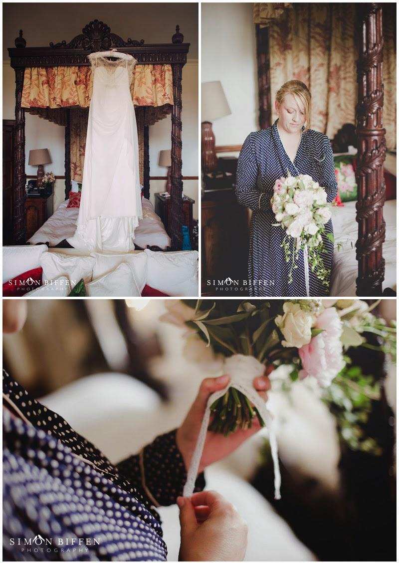 Huntsham Court bride preparations