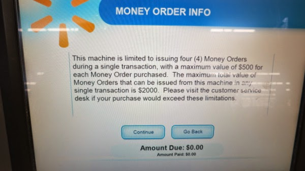 Cancel a Money Order Issued by Wal-Mart