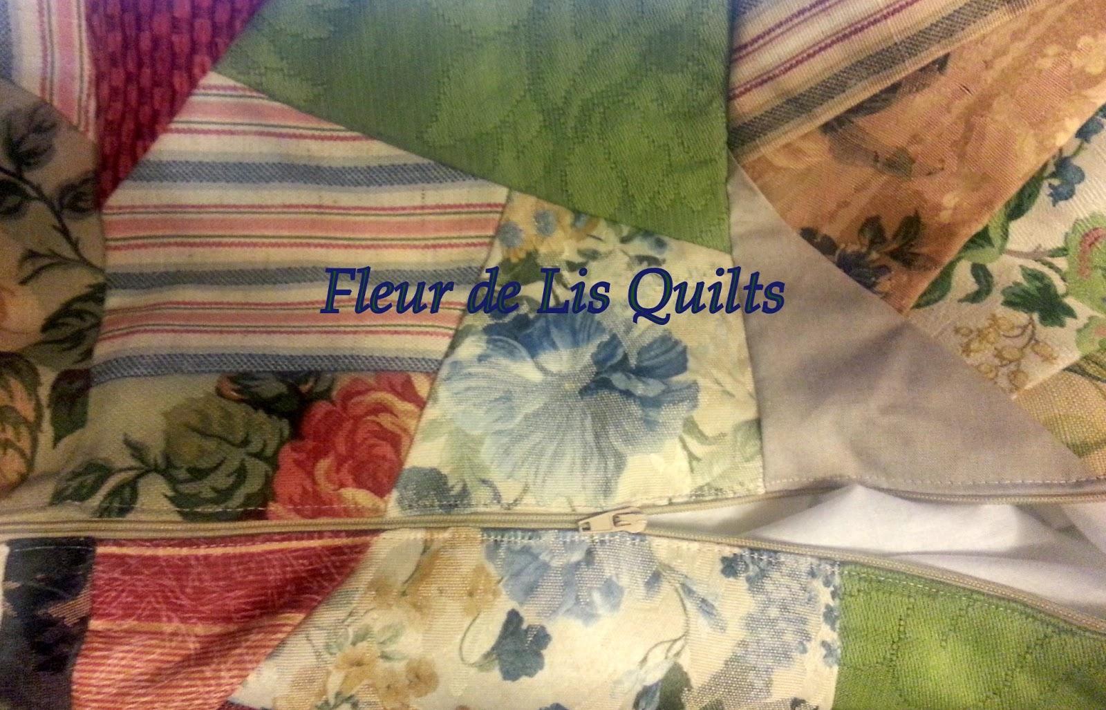 Victorian Bolster Pillows : Fleur de Lis Quilts and Accessories: A Victorian Bolster