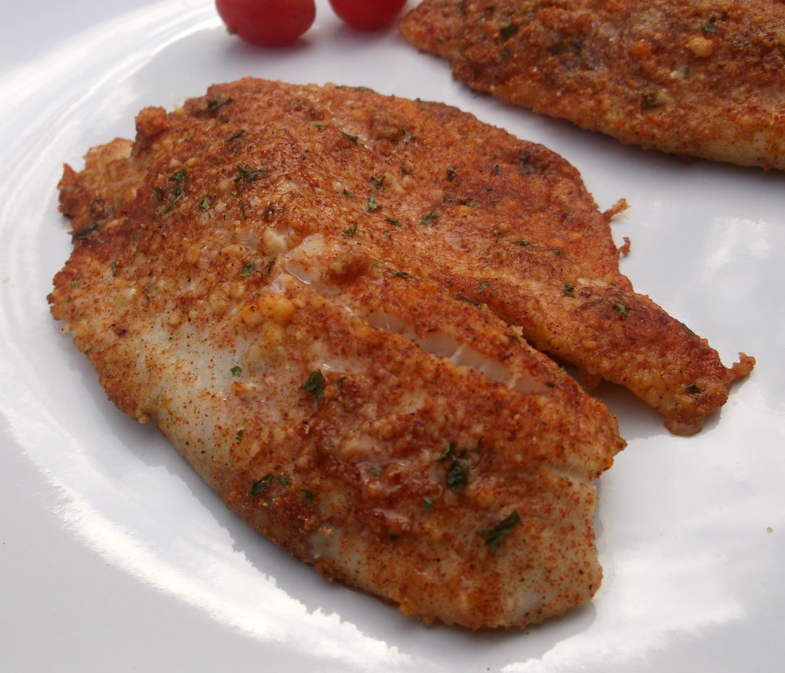 Parmesan crusted tilapia fillets words of deliciousness for Tilapia fish sticks