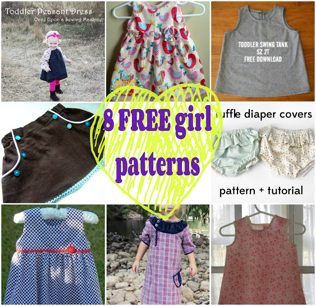 http://seemesew.blogspot.com/p/free-patterns-for-girls.html