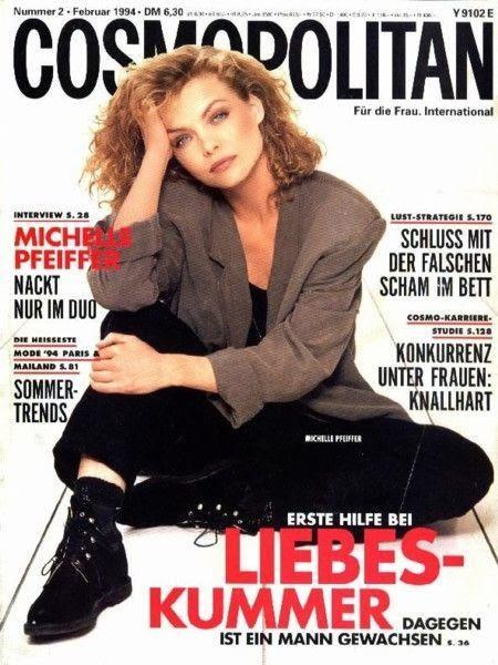 #michelle pfeiffer #michellepfeiffer #90s #style #streetstyle #fashion #cosmo #1991 #vintage #grunge