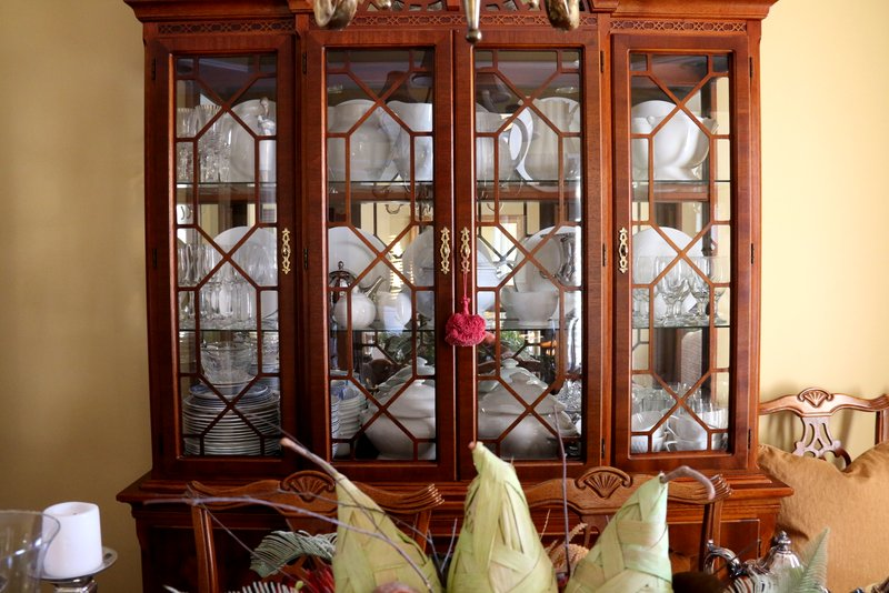 My Dining Room Furniture Is Thirty+ Years Old Which Tells You That We Keep  Things Forever! The China Cabinet Is In Two Parts...and Has Survived Its  Moves ...