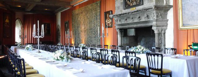 Henry VIII banqueting hall at Leeds Castle