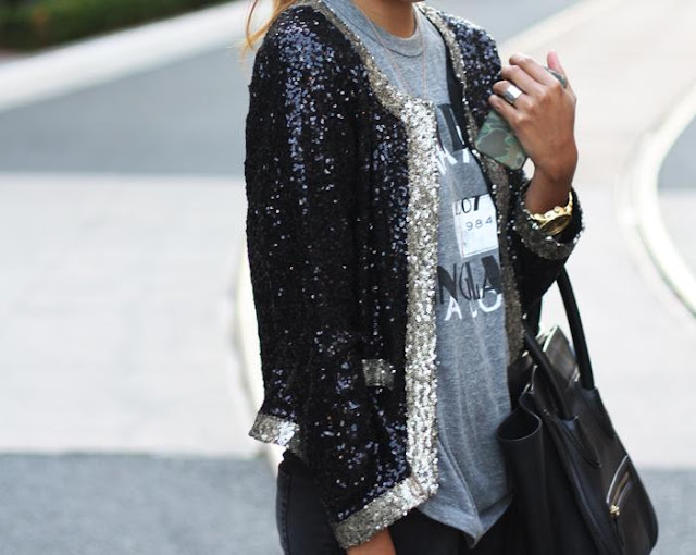 Lusting Over: Lovers + Friends Sequin Jacket