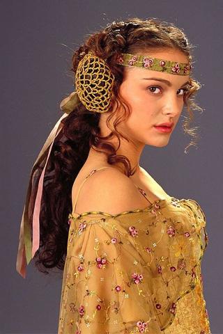the costumes of star wars padme amidala