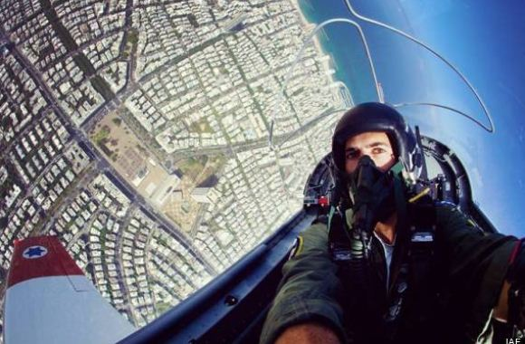 Foto selfie pilot AU Israel