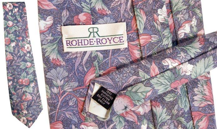 Rohde Royce tie