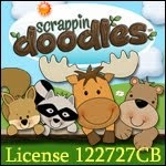 Scrappin Doodles License #122727CB