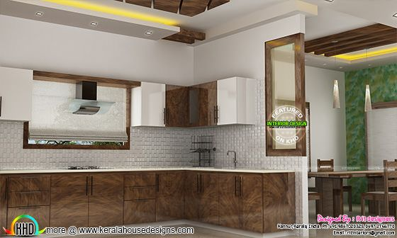 Kitchen interior in India