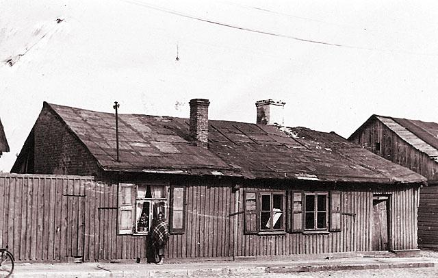 Końskie, getto, ul.  Jatkowa 30. Fotografię udostępnił Mateusz Partyka