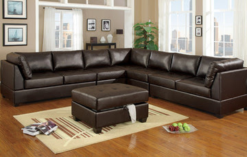 Leather Living Room  on Leather Sectional   Sofa Sets For The Comfortable Family Living Room