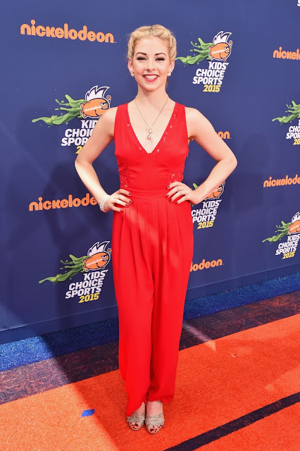 Figure skater @ Gracie Gold Nickelodeon Kids Choice Sports Awards Ucla Pauley Pavilion Westwood