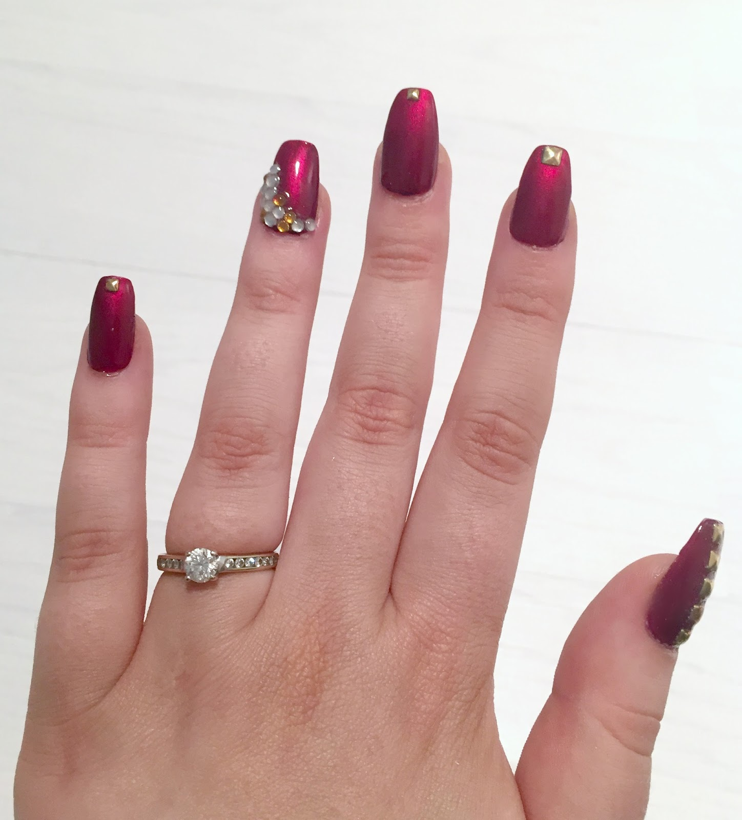 Coffin Designs Tease Flutter Pout Party Coffin Nails At Home