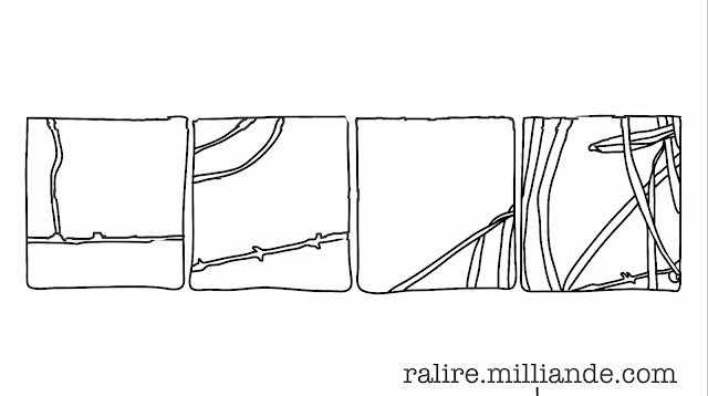 No:::22 Sketchbook Linear Remnants Studies in Line Abstraction - The Ralire Study by Milliande Demetriou