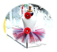 4th of July - Patriotic Red White Blue - Toddler Tutu - Matching Headband