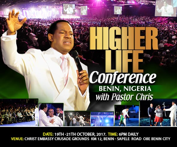 Higher Life Conference Benin With Pastor Chris