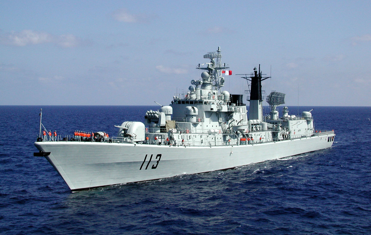 Ddg113 http://china-defense.blogspot.com/2011/07/luhu-pair-is-back.html
