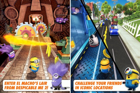 Despicable Me: Minion Rush cheats for iPhone, iPad and Android to get higher scores.