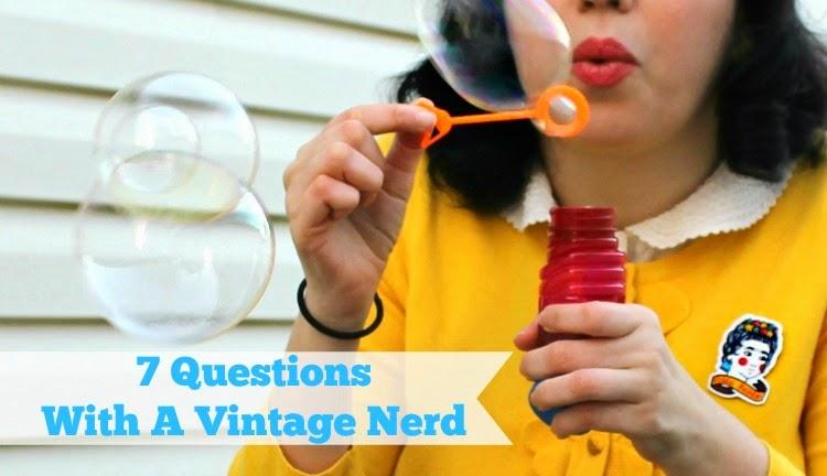 A Vintage Nerd, Vintage Blog