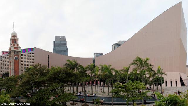 Complejo cultural de Hong Kong en la Avenida de las Estrellas