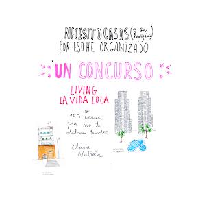 "CONCURSO ""BUSCO CASA"" PARA LIVING"