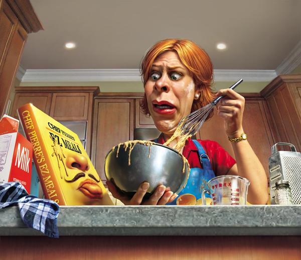 Bad Cooking Cartoons and Comics CartoonStock Cartoon Pictures