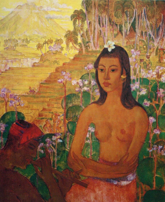 lukisan wanita