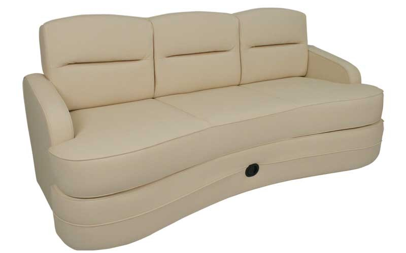 Of The Three Main Types Sofas Sofa Bed Simply Folds Out Into A Comfortable Flat Surface That Doubles As Sleeping Area Many RV Users Prefer This