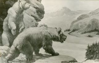 """""""Bears"""" by Charles R. Knight"""