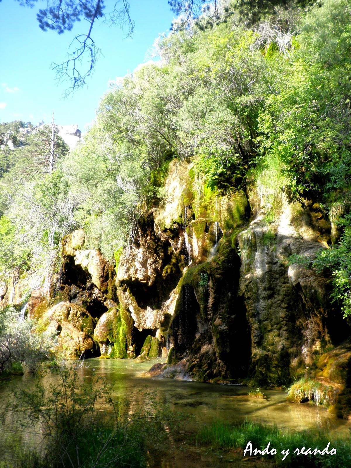 Cascadas del río Cuervo