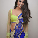 Daksha Nagarkar Hot Photo Gallery in Half Saree at Ak Rao Pk Rao Audio Launch CelebsNext (3)