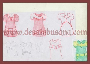 model fashion kaos