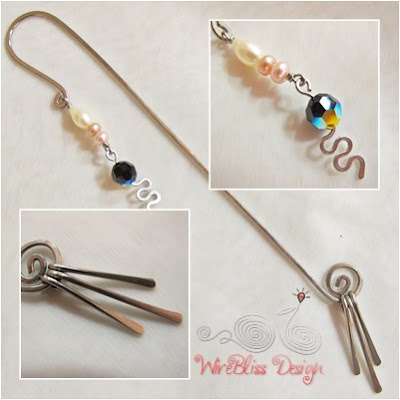 Wire Wrap Bookmark by WireBliss