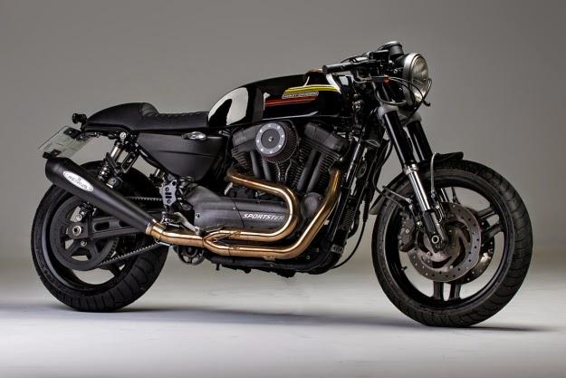 Racing Caf U00e8  Harley Xr 1200 Caf U00e8 Racer By Caf U00e8 Racer Dreams