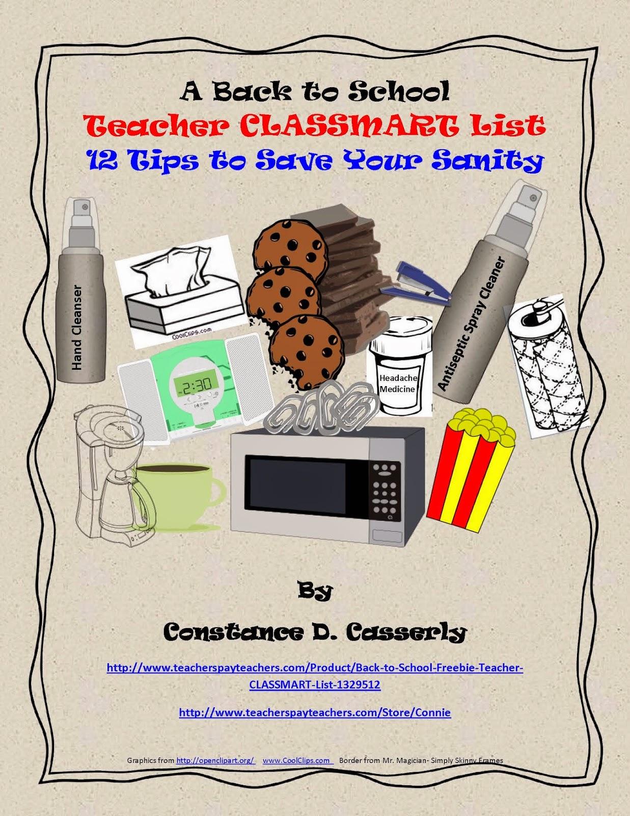 Teacher CLASSMART List
