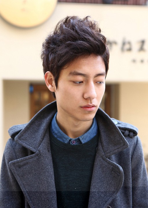 Mode Haar Mannen Hairstyle 2012 Koreaanse Mannen Kapsels 2012 Mannen Hairstyle 2012 Curly